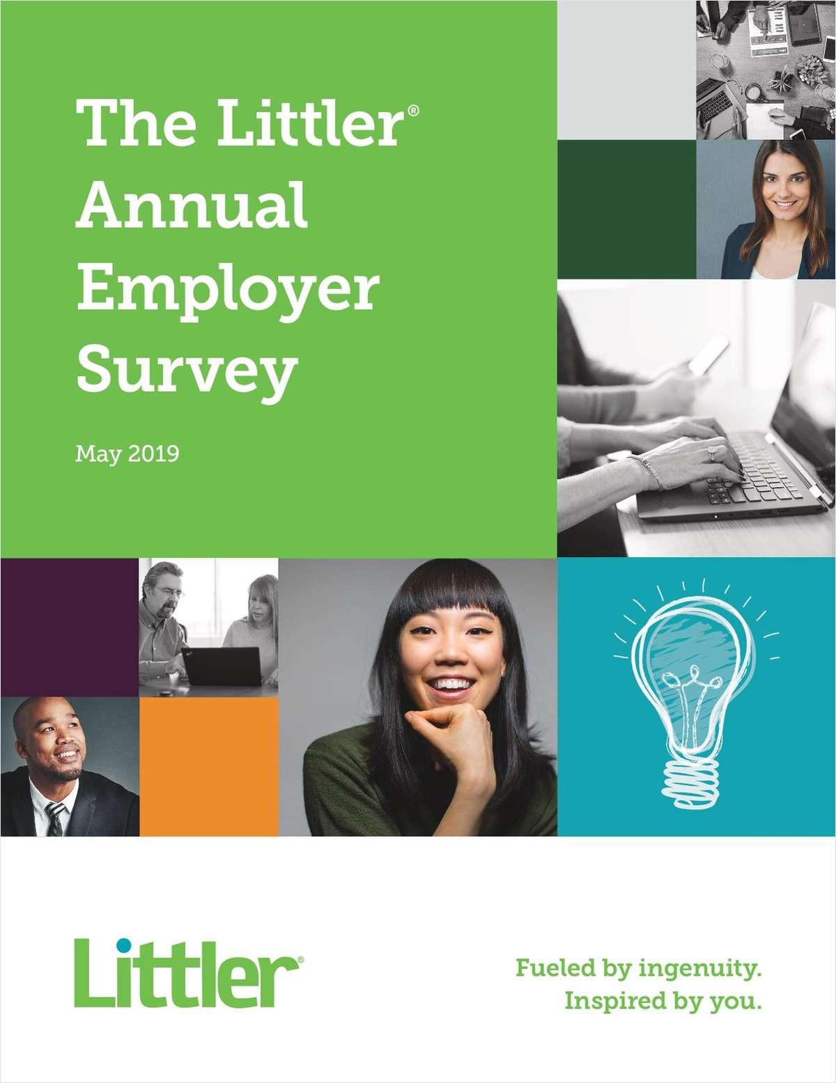 2019 Littler Annual Employer Report