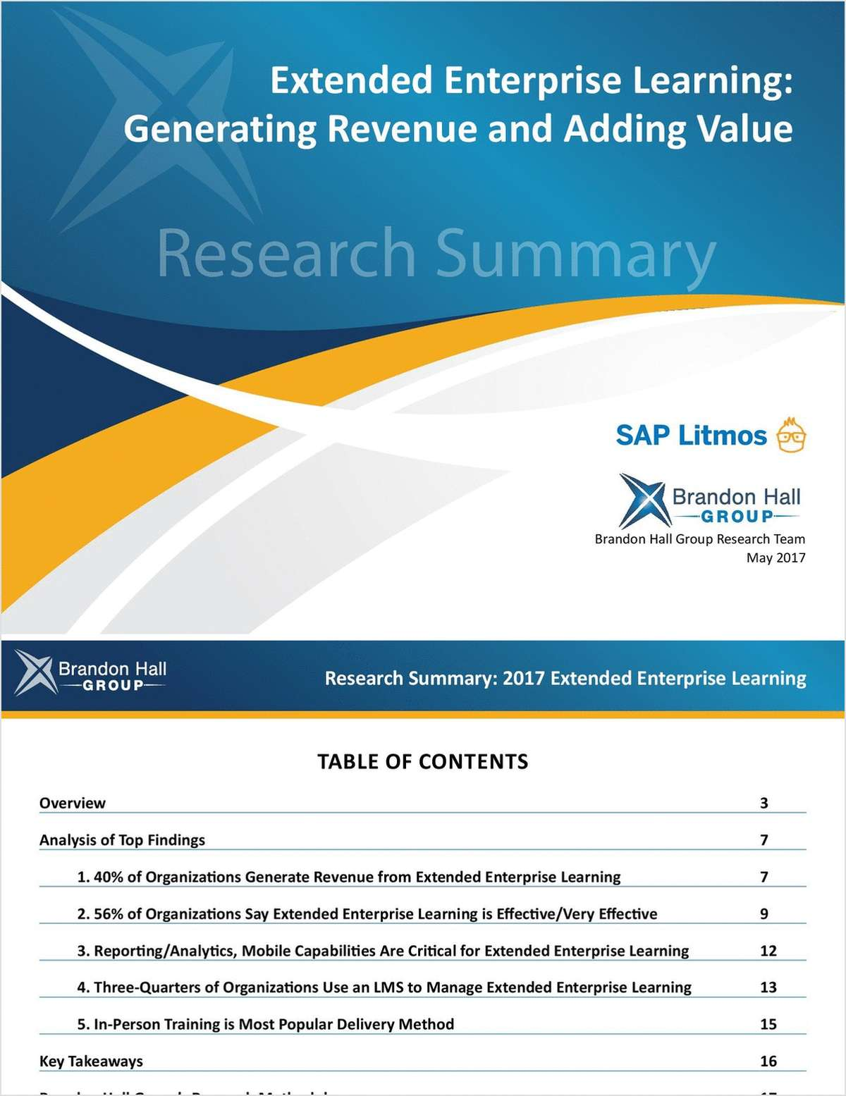 Extended Enterprise Learning: Generating Revenue and Adding Value