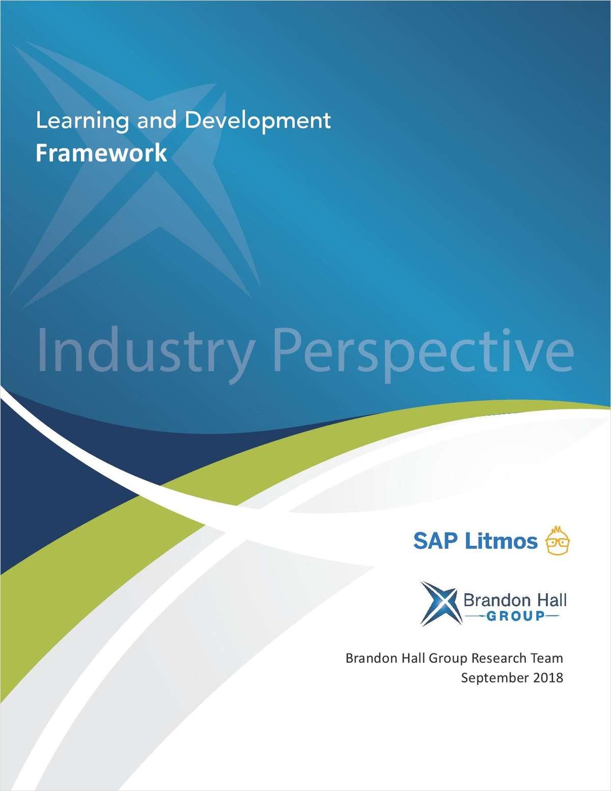 Learning & Development Framework