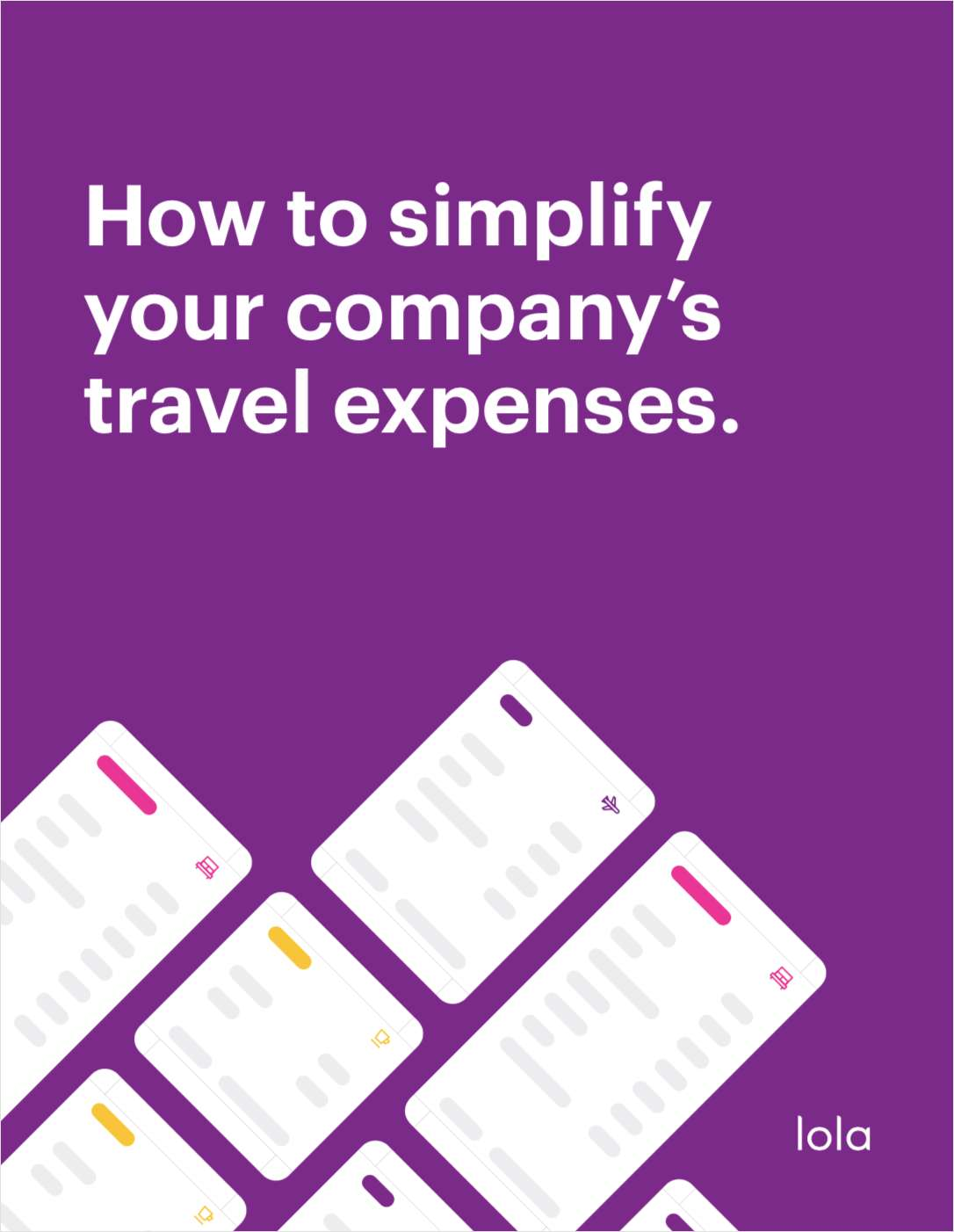 How to Simplify Your Company's Travel Expenses