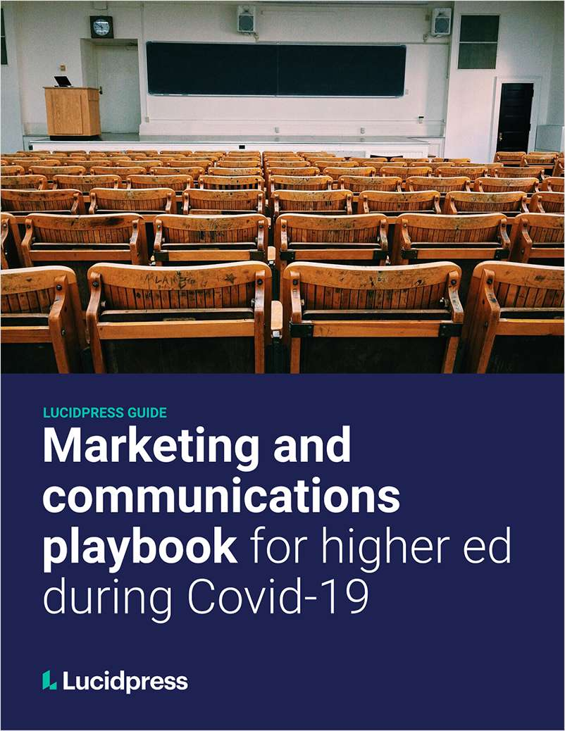 Marketing & Communications Playbook For Higher Ed During COVID-19