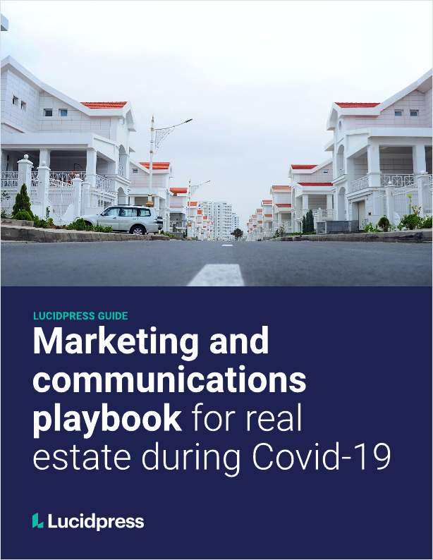 Marketing & Communications Playbook For Real Estate During COVID-19