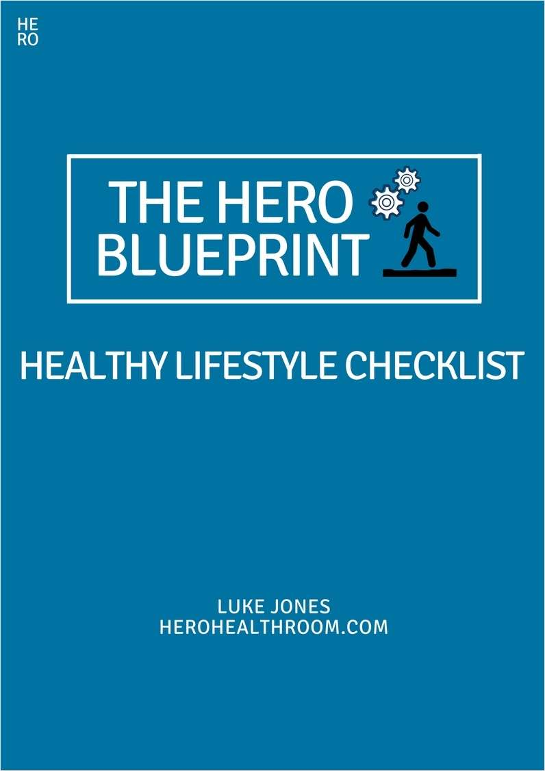 The HERO Blueprint - Healthy Lifestyle Checklist