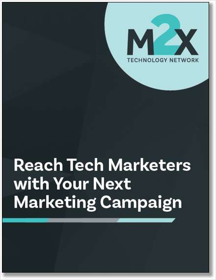 Reach Tech Marketers with Your Next Marketing Campaign