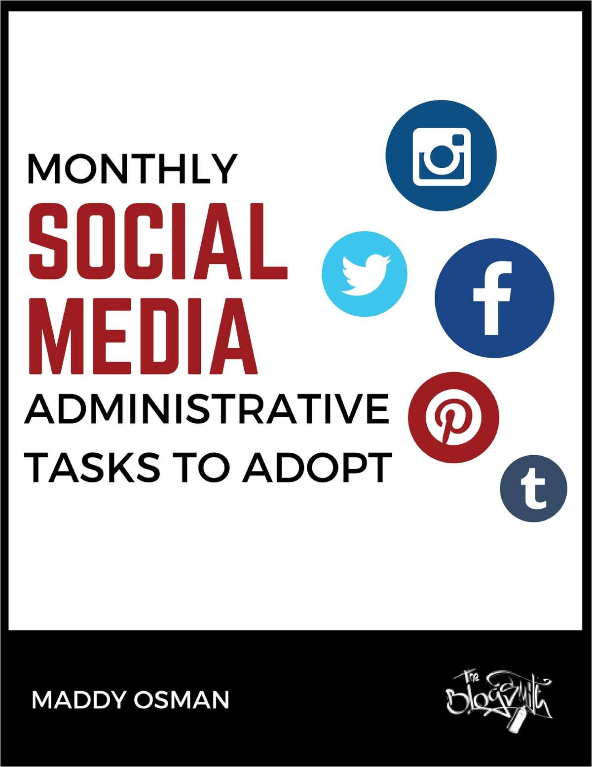 Monthly Social Media Administrative Tasks to Adopt