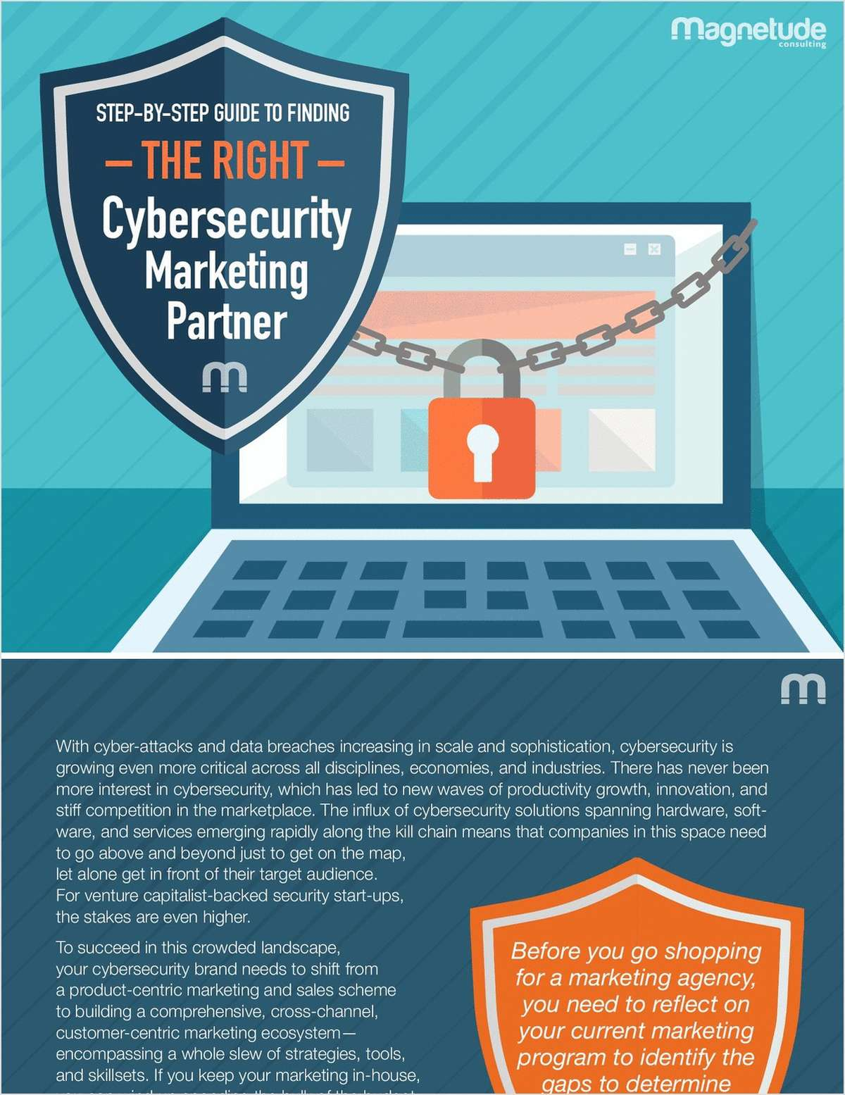 A Step-by-Step Guide to Finding the Right Cybersecurity Marketing Partner
