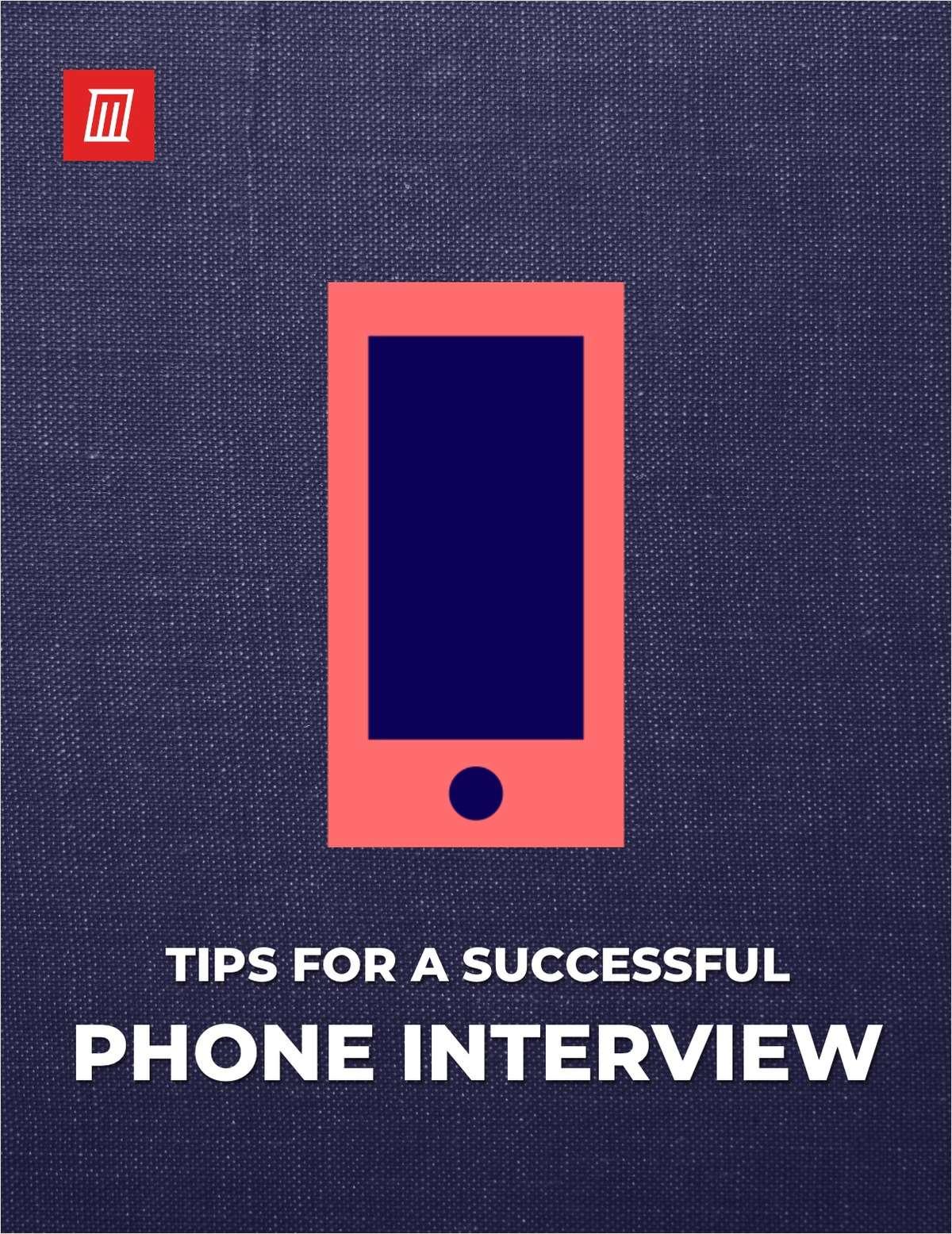 Phone Interview Essentials
