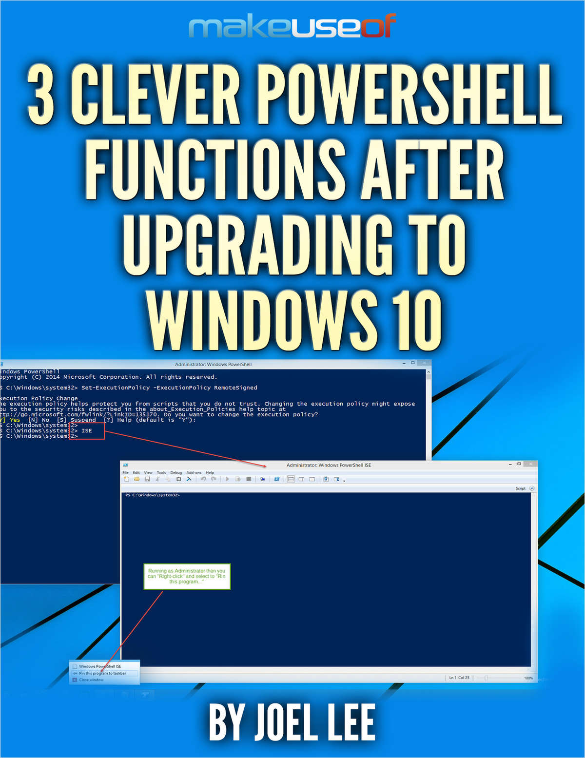 3 Clever PowerShell Functions After Upgrading to Windows 10