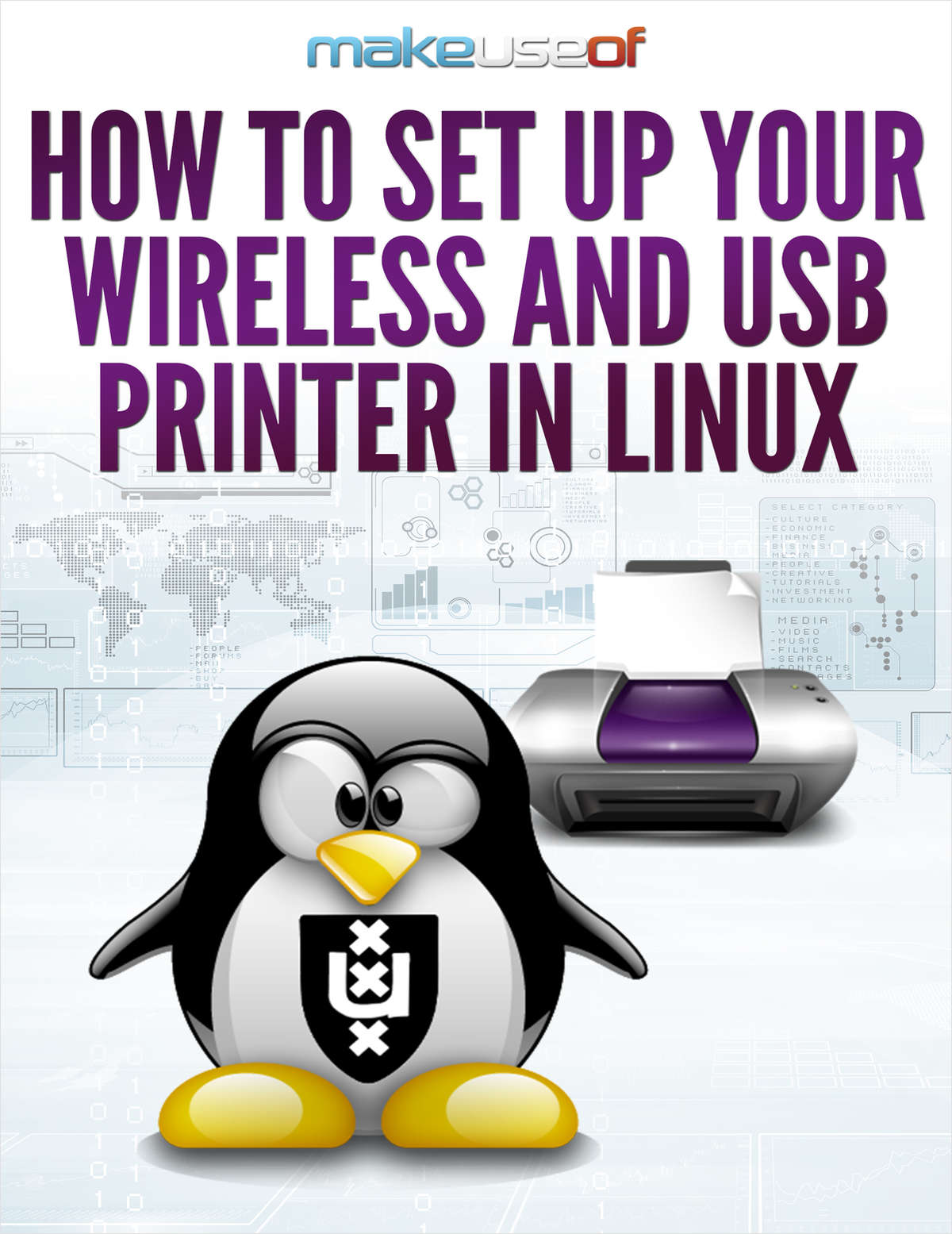 How to Set Up Your Wireless and USB Printer in Linux
