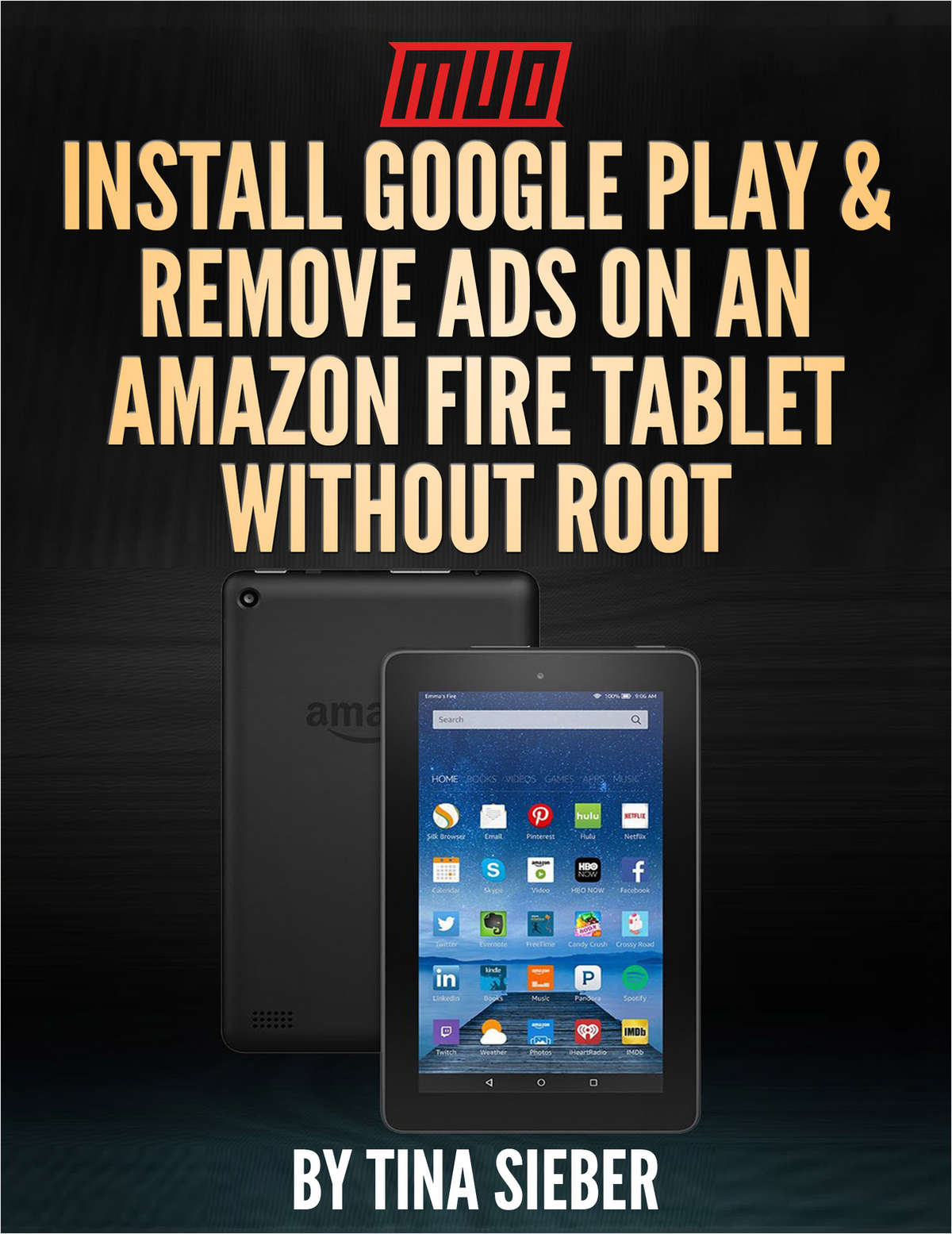 Install Google Play & Remove Ads on an Amazon Fire Tablet Without Root