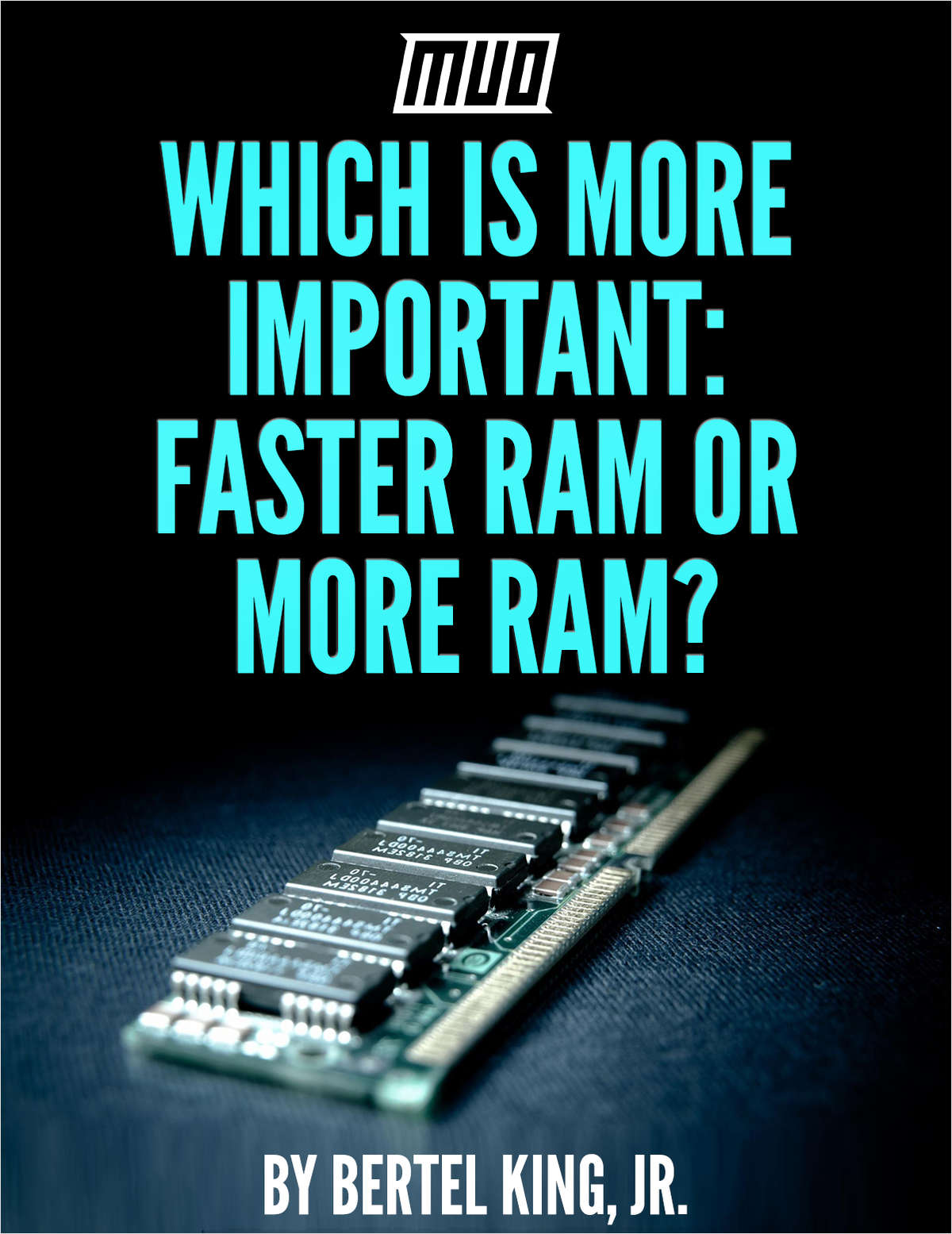 Which Is More Important - Faster Ram or More Ram?