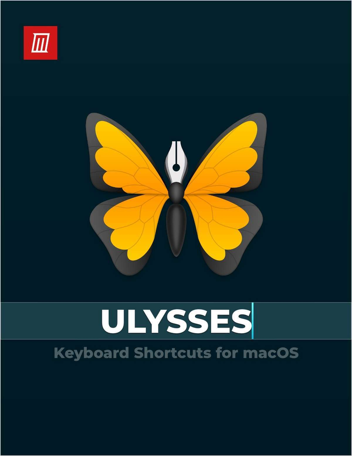Ulysses Keyboard Shortcuts for macOS