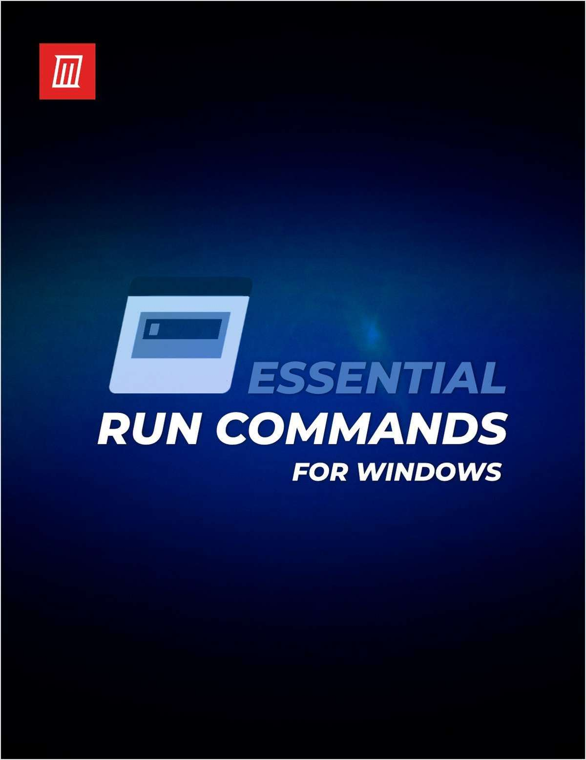 Essential Windows Run Commands You Should Know