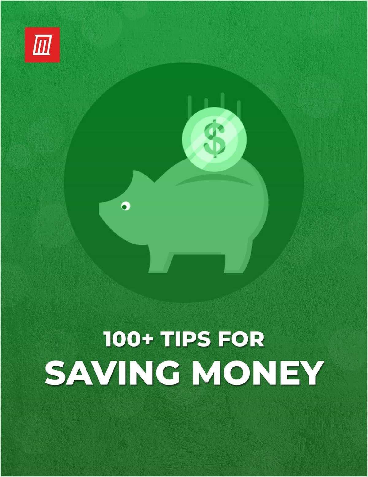 100+ Tips for Saving Money