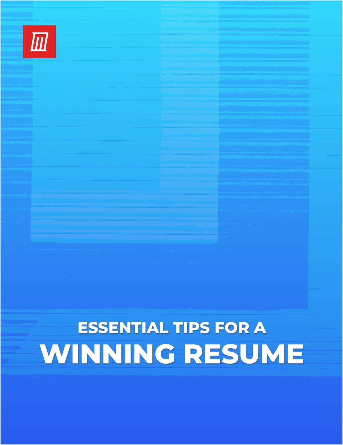 Essential Tips for a Winning Resume