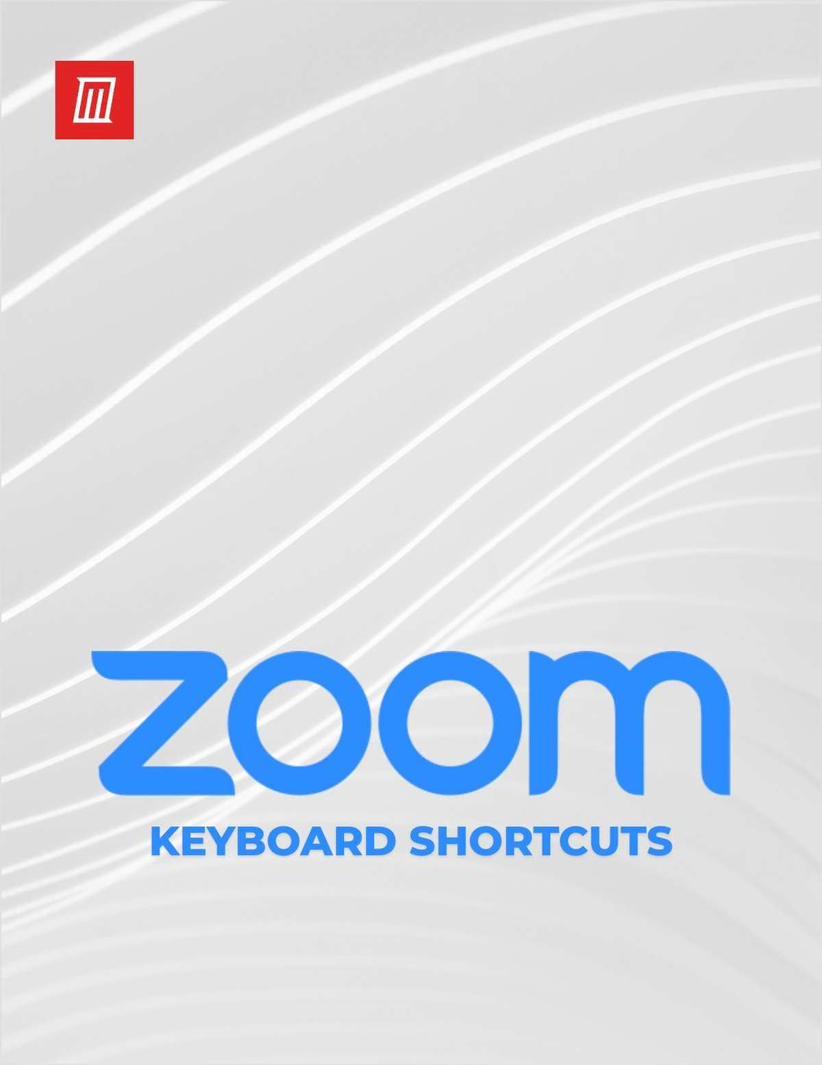 Zoom Keyboard Shortcuts for Windows and macOS