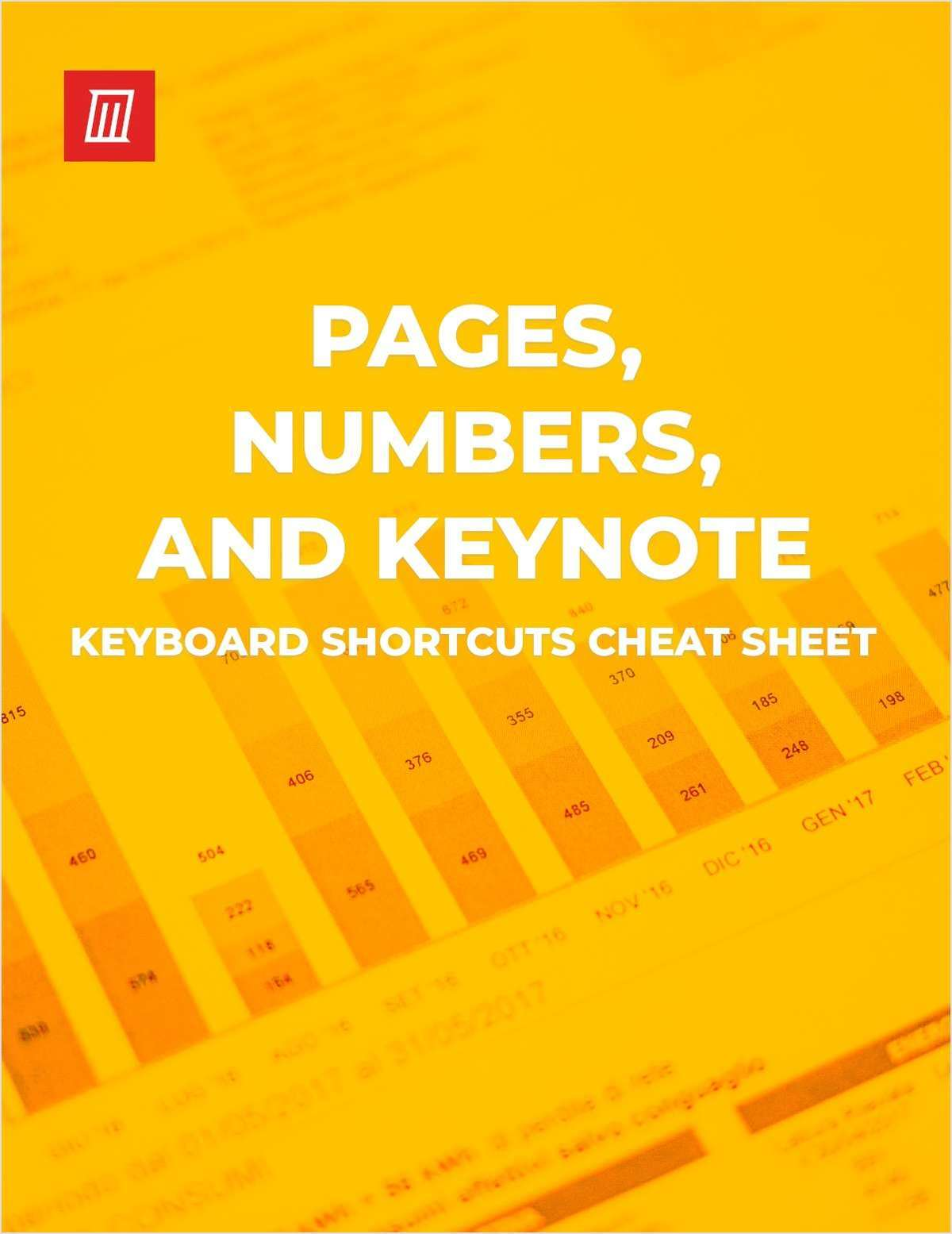 Keyboard Shortcuts for Pages, Numbers, and Keynote