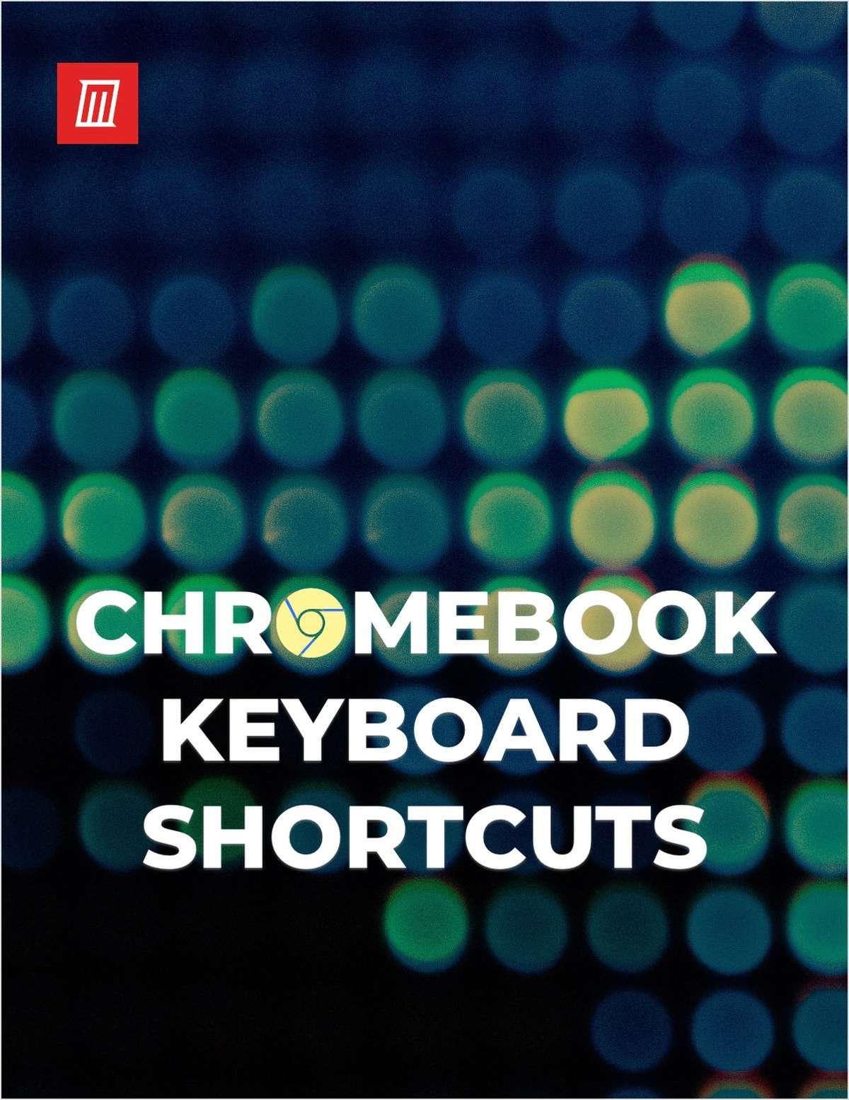 The Chrome OS Keyboard Shortcuts Cheat Sheet