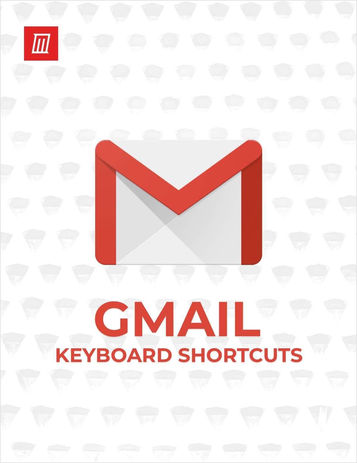 Essential Gmail Keyboard Shortcuts