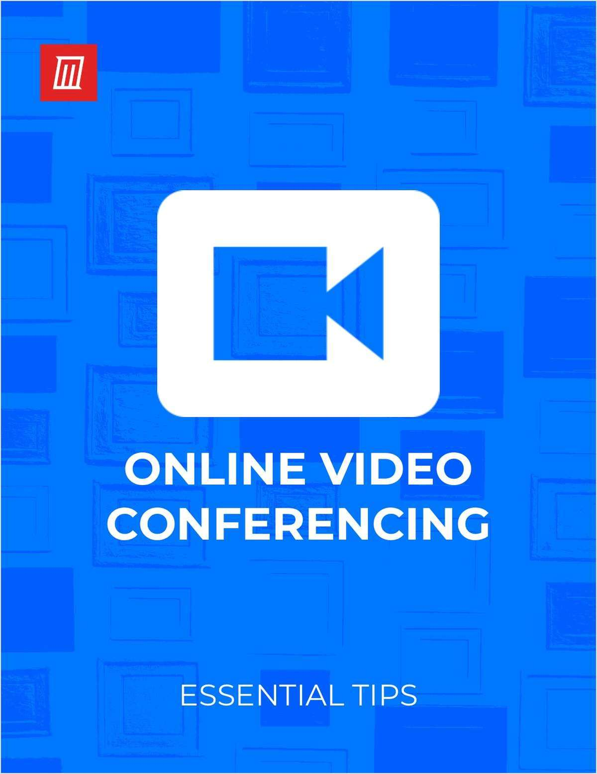 Essential Tips for Online Video Conferencing