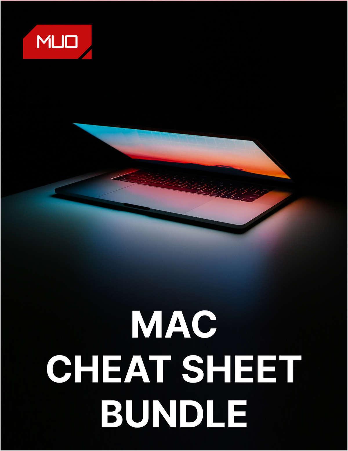Mac Cheat Sheet Bundle