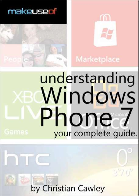 Understanding Windows Phone 7: Your Complete Guide