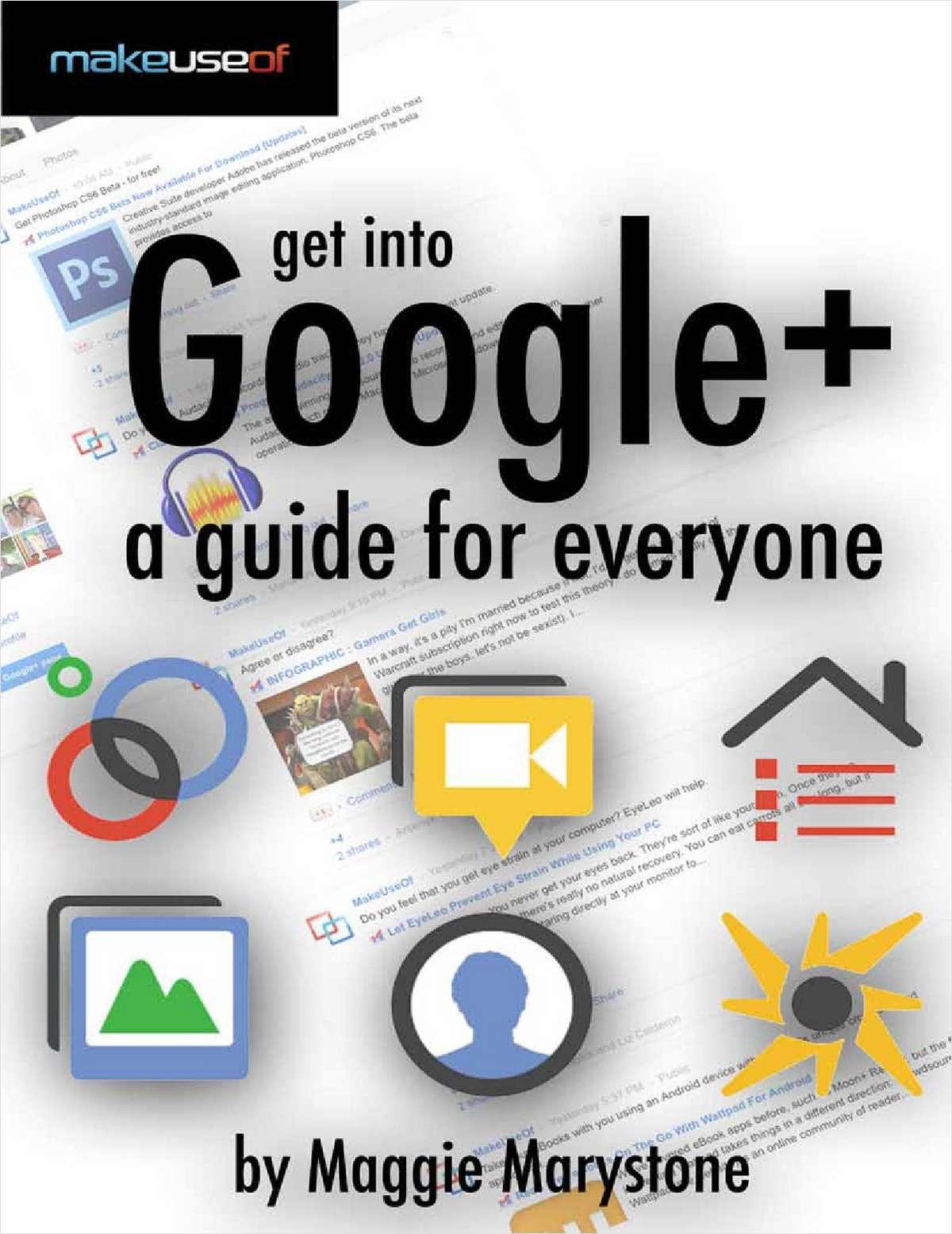 Get into Google+