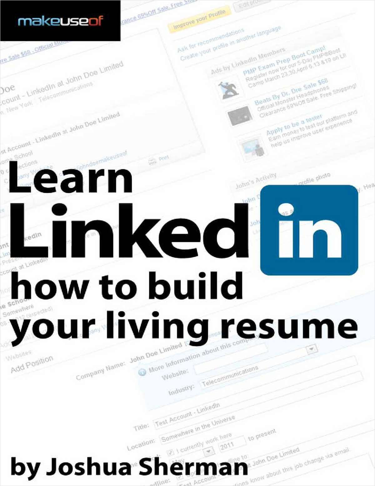 Learn LinkedIn: How to Build your Living Resume