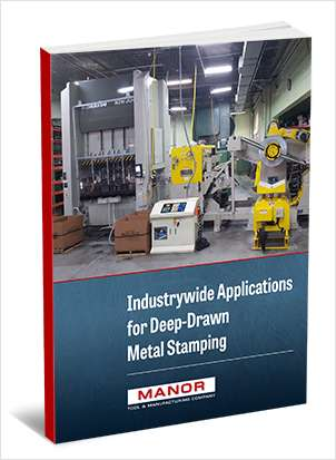 Industrywide Applications for Deep-Drawn Metal Stamping