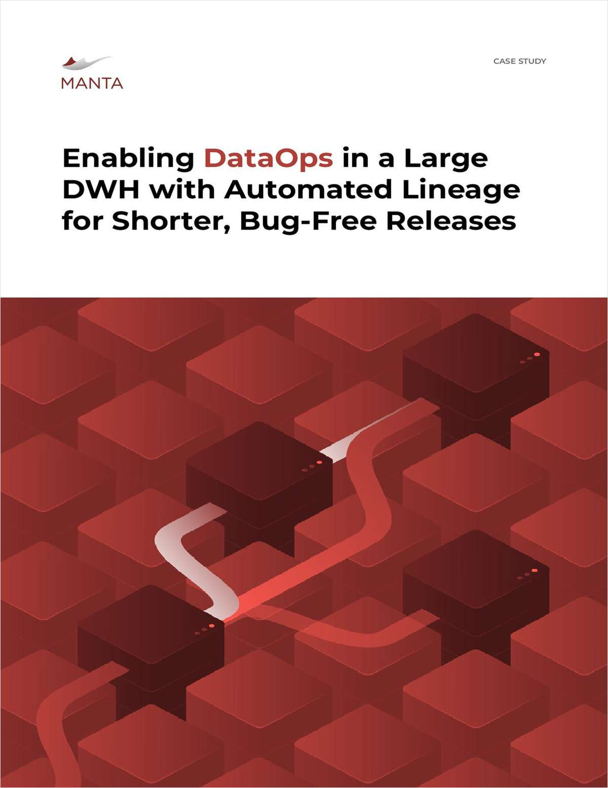 Enabling DataOps in a Large DWH with Automated Lineage for Shorter, Bug-Free Releases