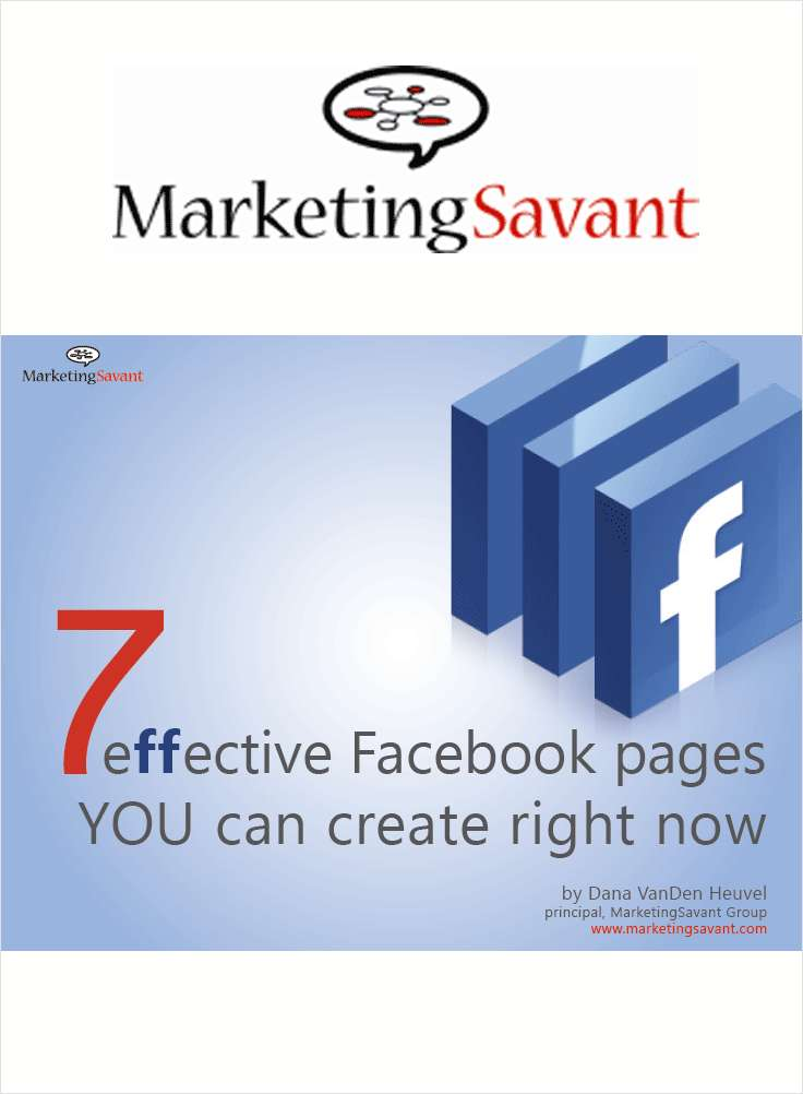 7 Effective Facebook Pages and 23 Facebook Marketing Ideas eBook