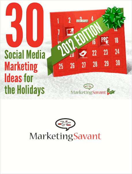 30 Social Media Marketing Ideas for the Holidays