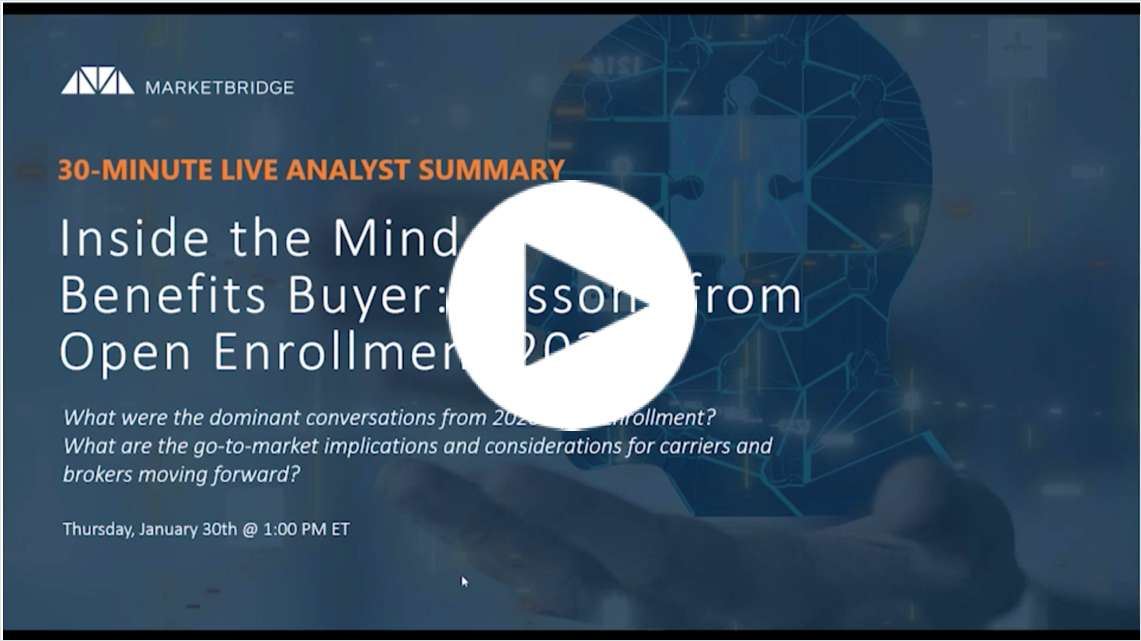 Inside the Mind of the Benefits Buyer: Lessons from Open Enrollment 2020