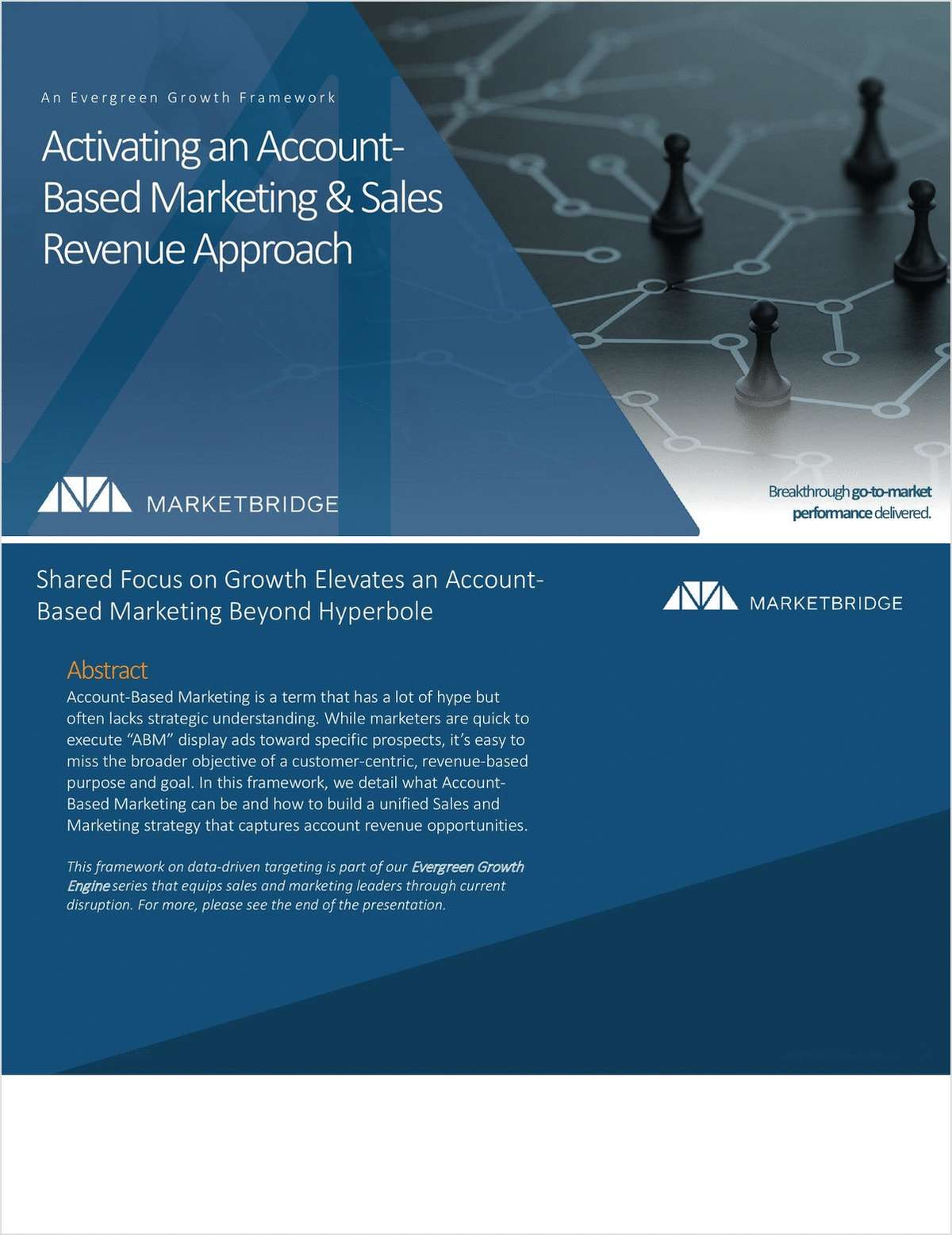 Activating an Account-Based Marketing and Sales Revenue Approach