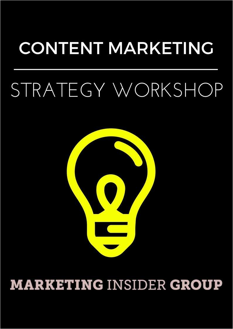 Content Marketing Strategy Workshop
