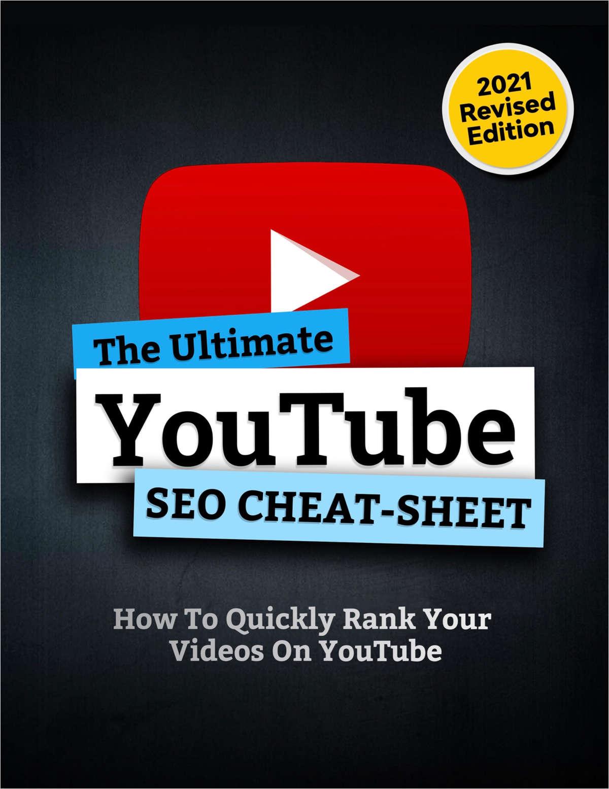 The Ultimate YouTube SEO Cheat Sheet
