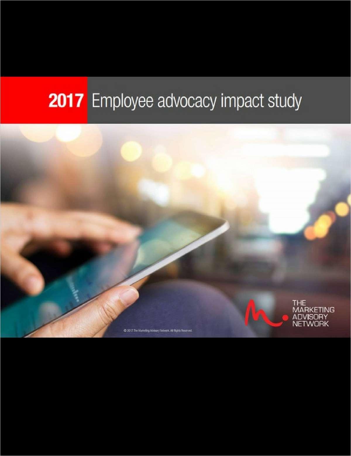 Employee Advocacy Impact Study (2017)