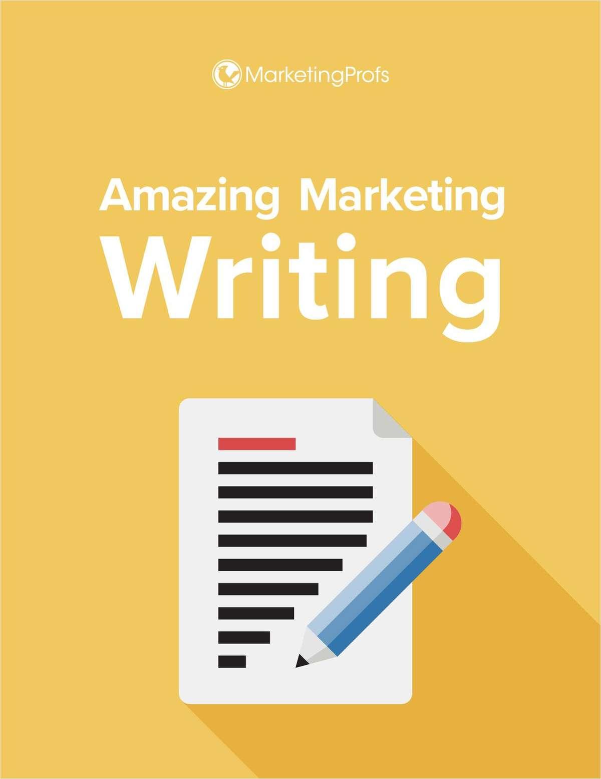 Amazing Marketing Writing