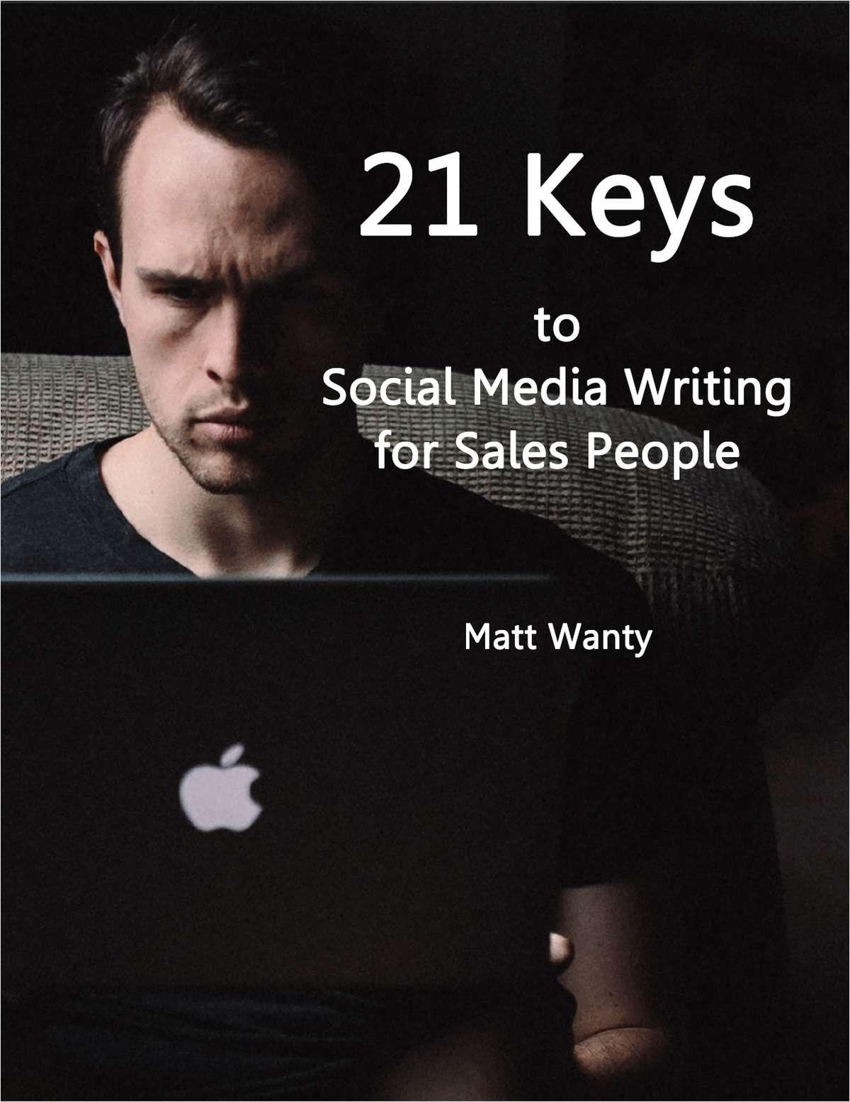 21 Keys to Social Media Writing