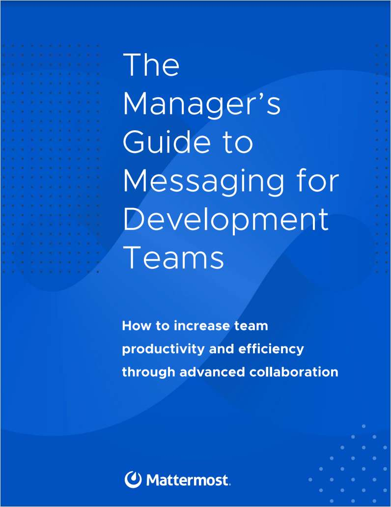 The Manager's Guide to Messaging for Development Teams