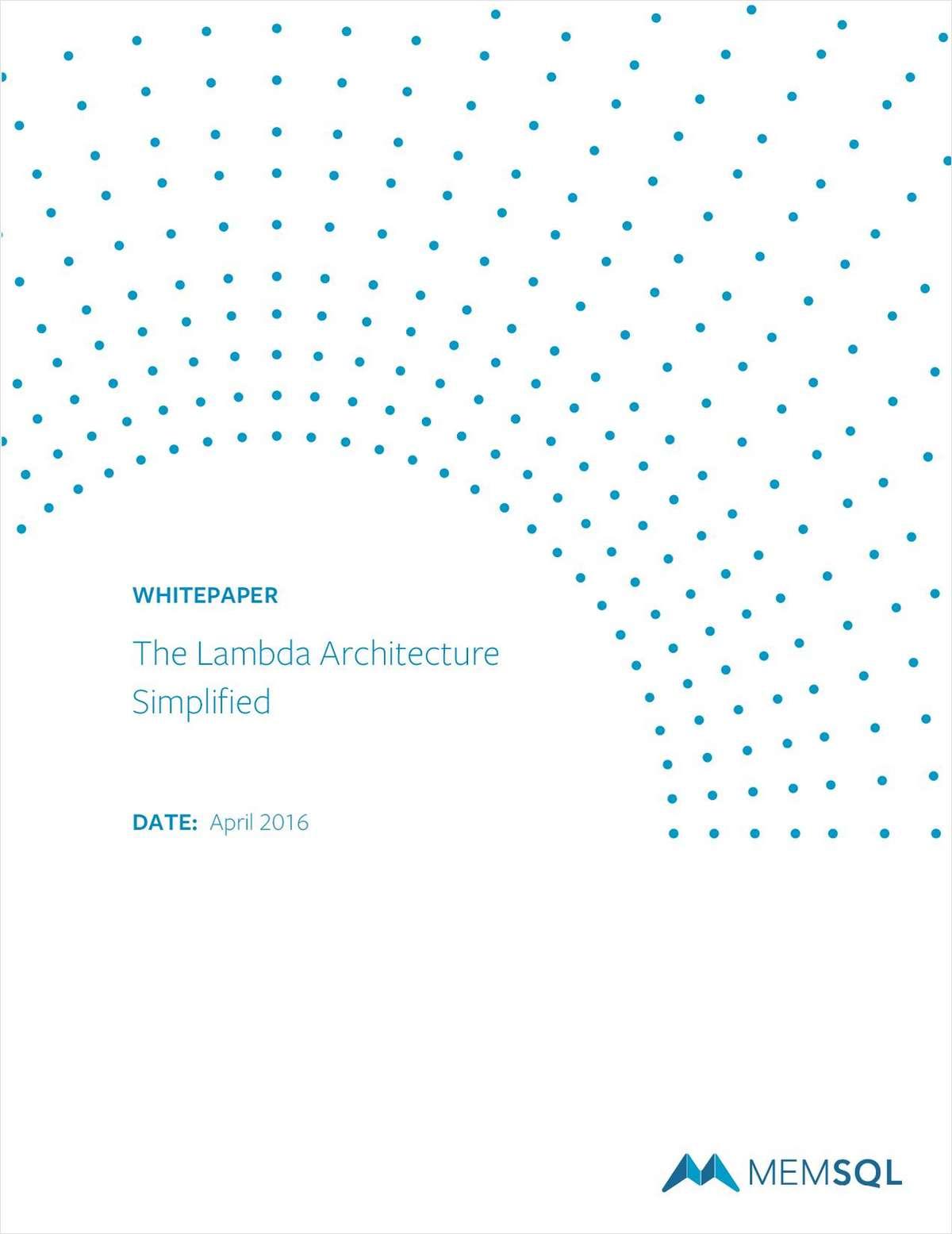 The Lambda Architecture Simplified