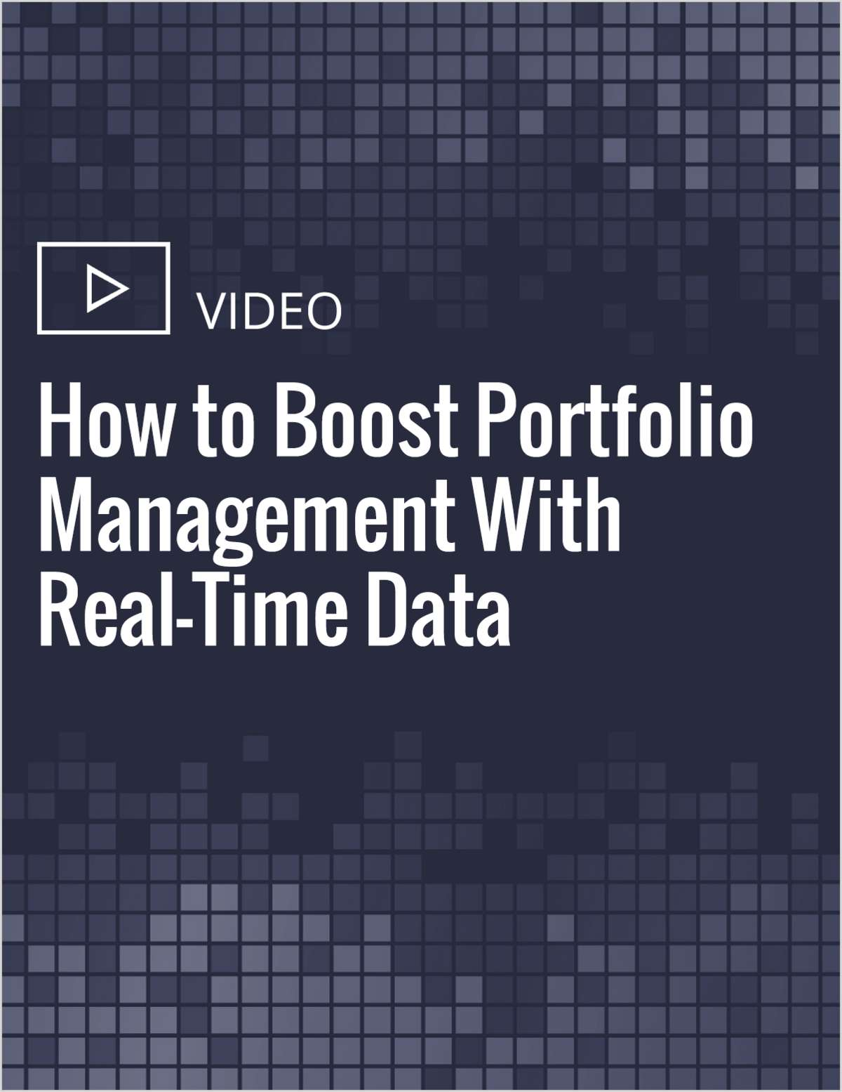 How to Boost Portfolio Management With Real-Time Data