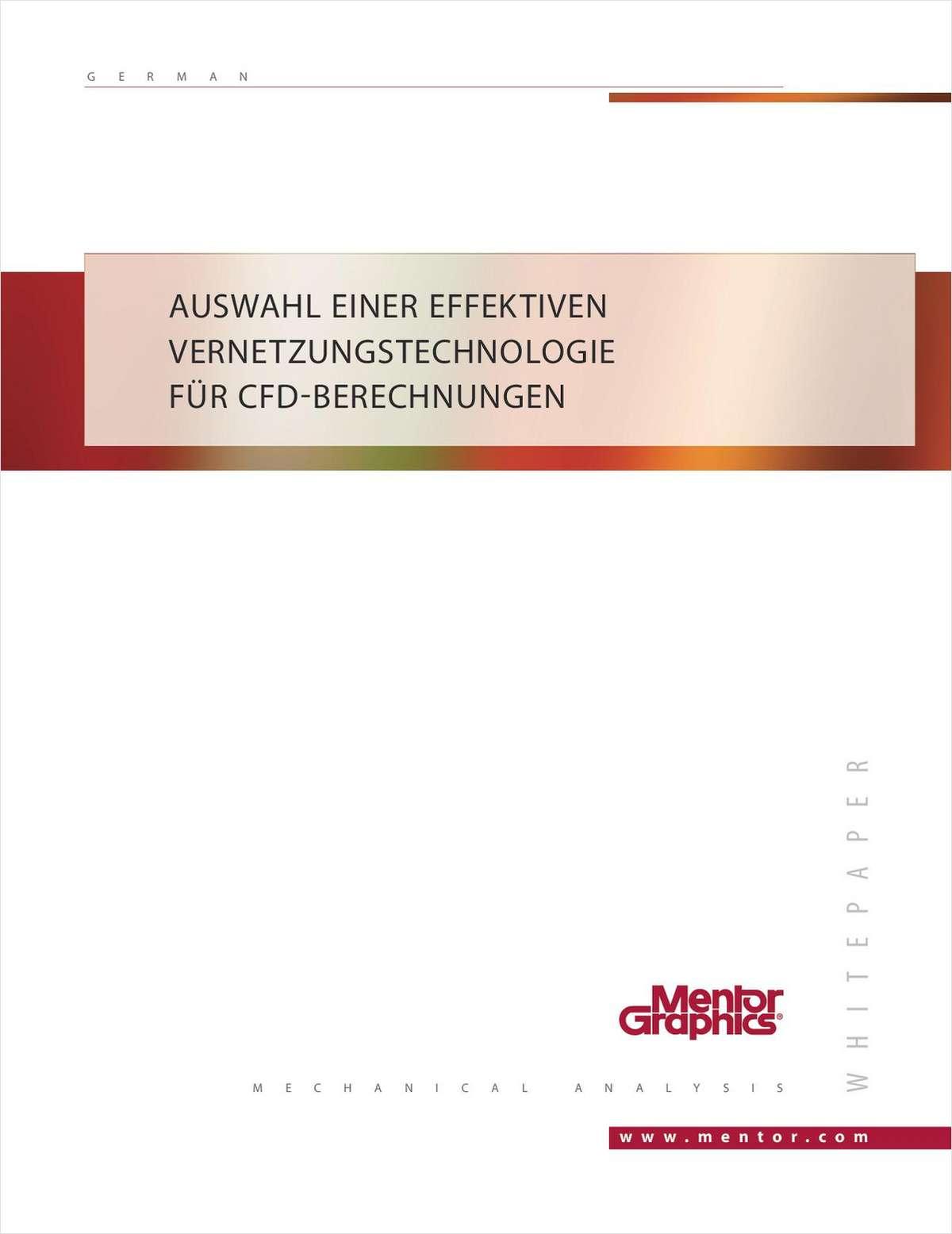 Auswahl einer effektiven Vernetzungstechnologie für CFD-Berechnungen
