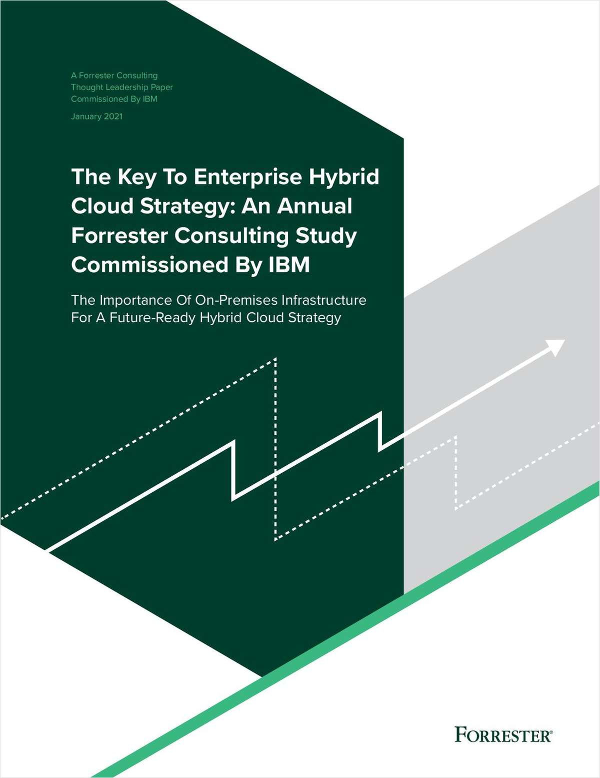 The Key to Enterprise Hybrid Cloud Strategy: An Annual Forrester Consulting Study Commissioned by IBM