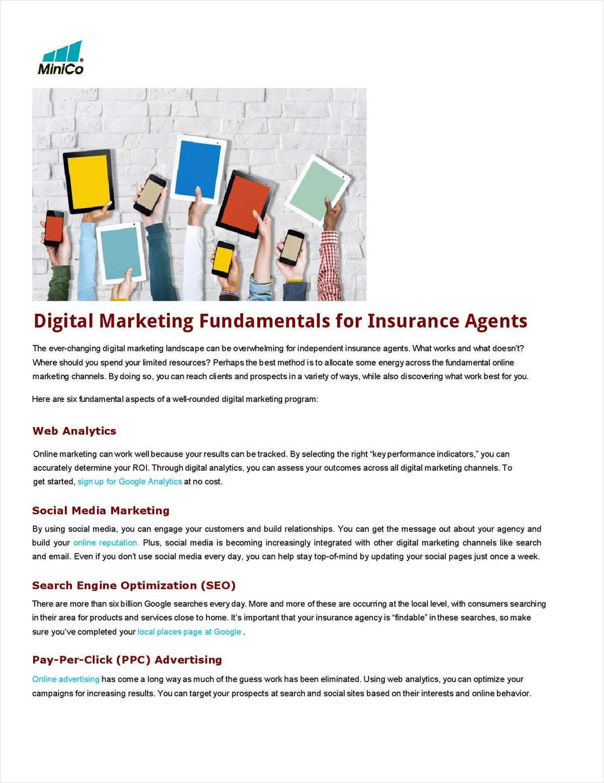 Digital Marketing Fundamentals for Insurance Agents