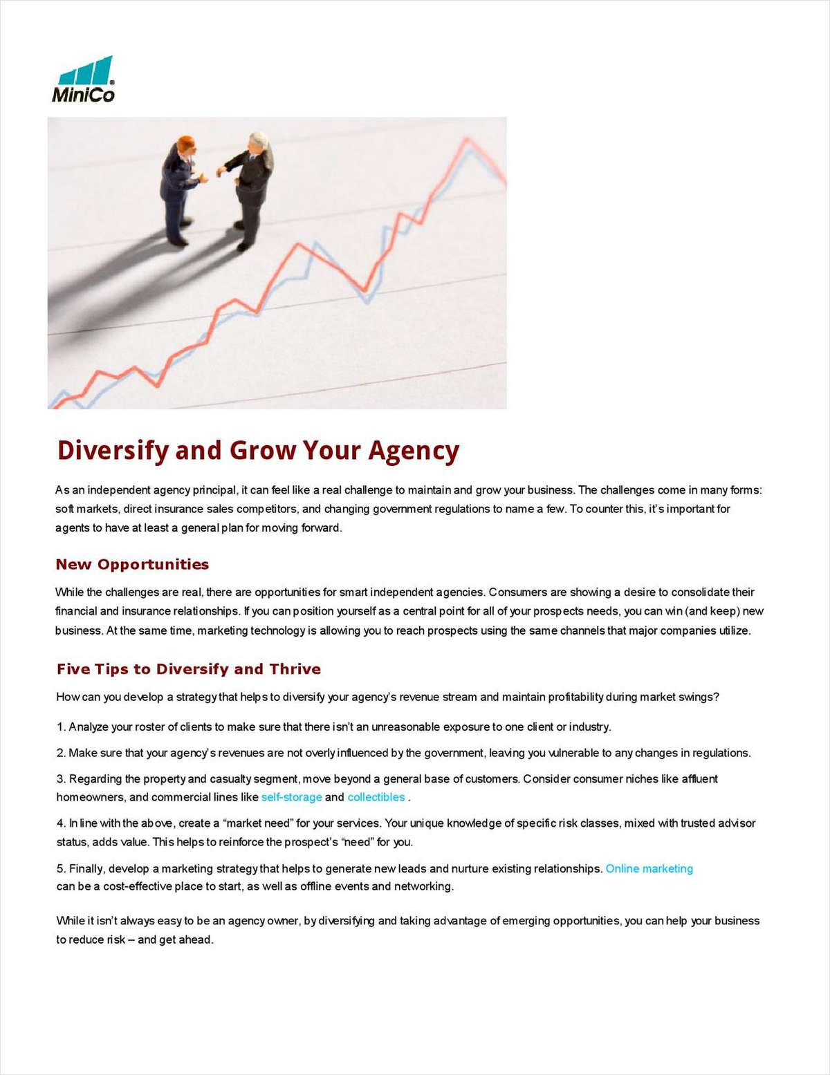 Diversify and Grow Your Agency