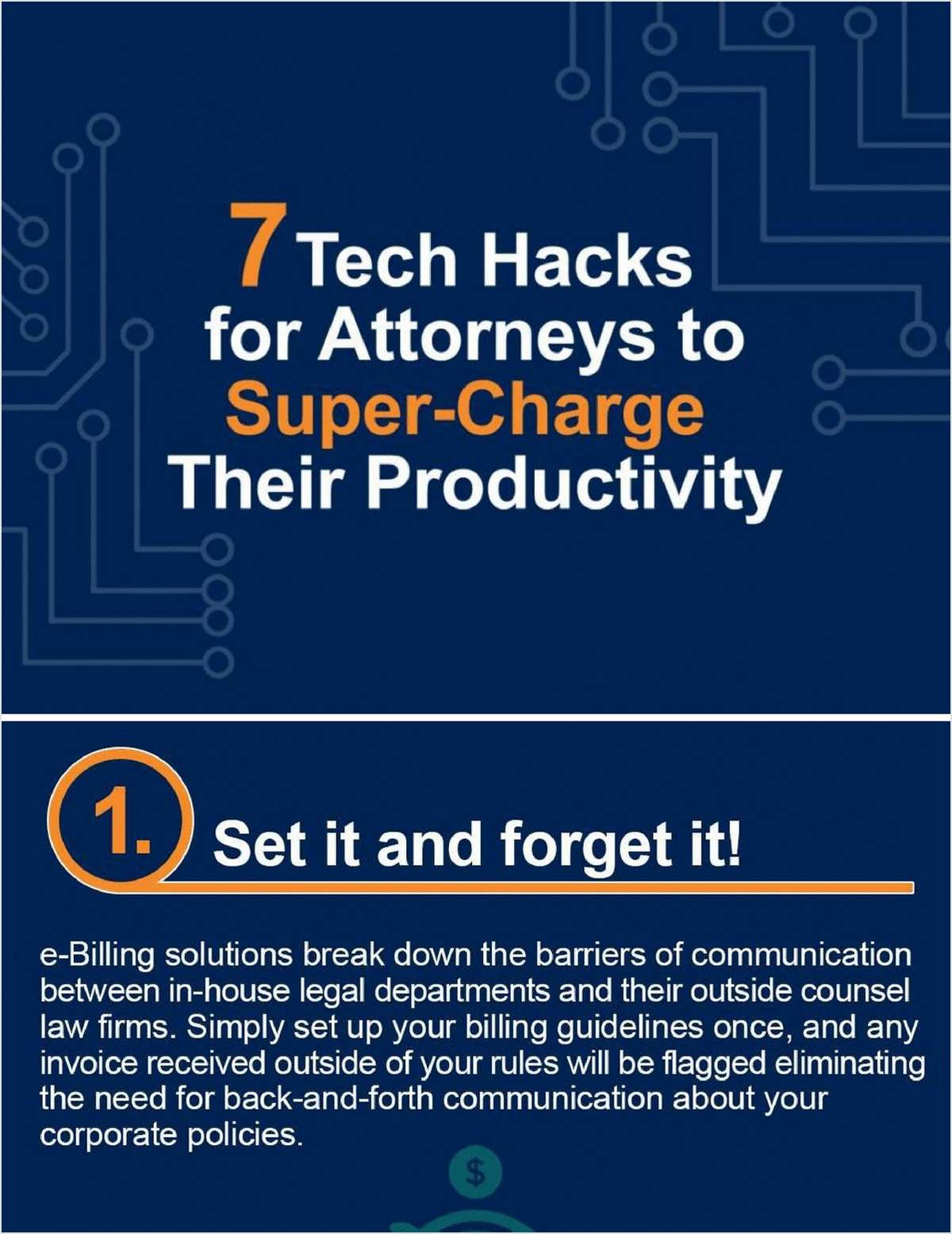 Tech Hacks for Attorneys to Super-Charge Their Productivity