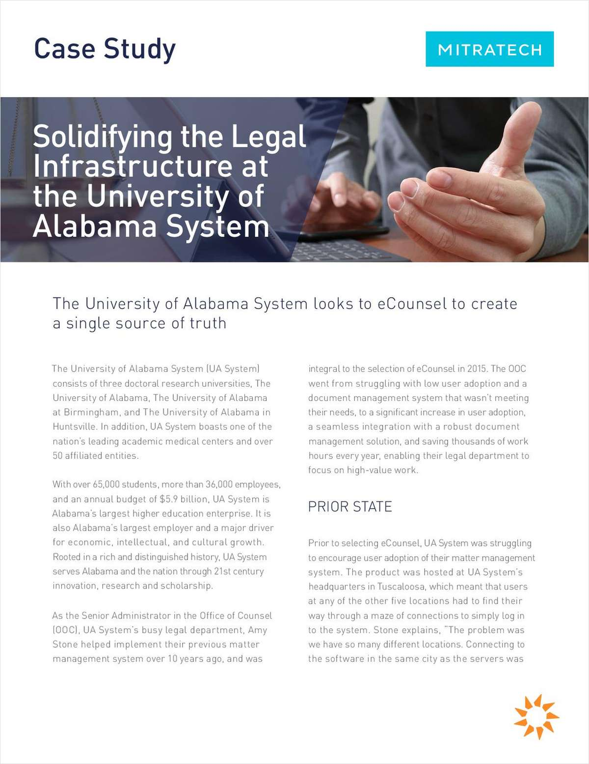 Solidifying the Legal Infrastructure at the University of Alabama System