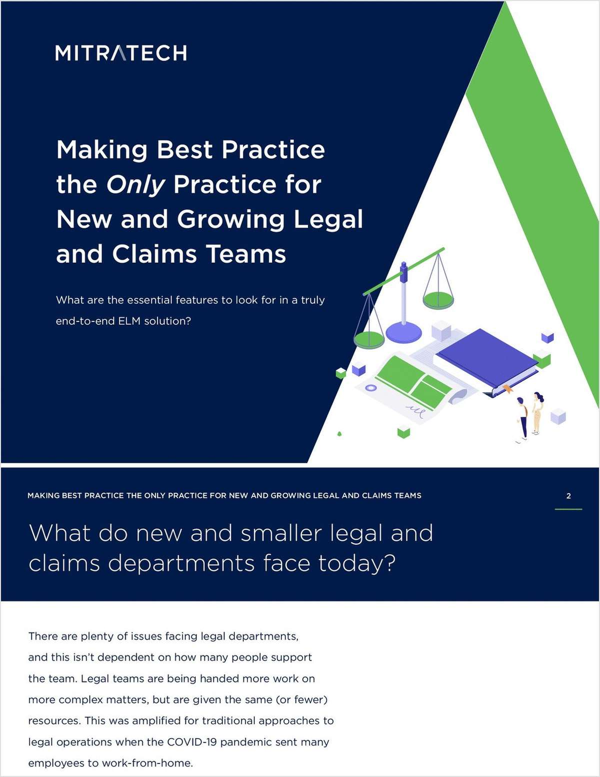 Making Best Practice the Only Practice for New and Growing Legal and Claims Teams