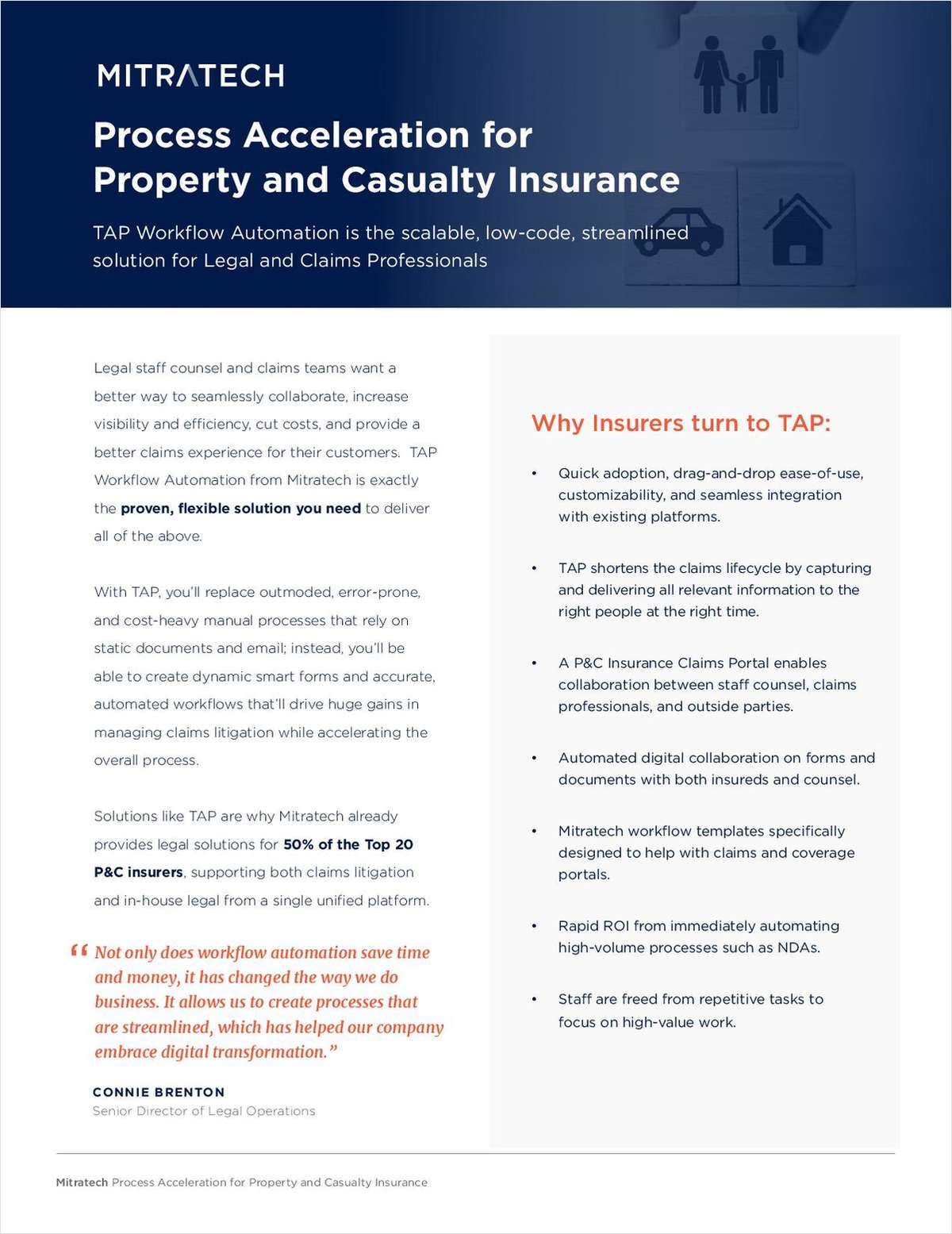 Process Acceleration for Property and Casualty Insurance
